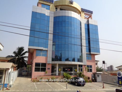 For rent: Executive office building to let at Osu, Kuku Hills in Accra