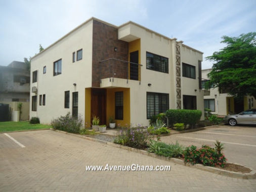 3 bedroom townhouse with swimming pool for rent in Ringway Estates North Ridge in Accra Ghana