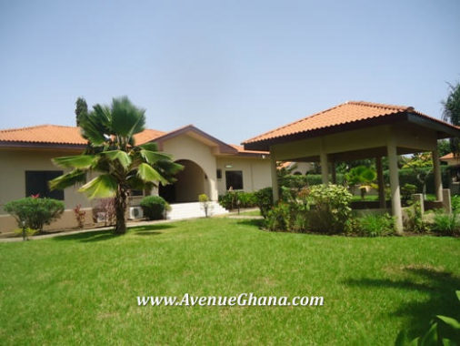 4 bedroom property with 2 room outhouse for rent in Regimanuel Estates, Spintex Accra Ghana