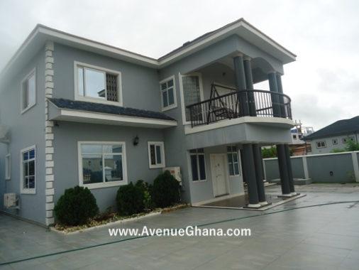 5 bedroom furnished house for rent in Adjiringanor, East Legon Accra Ghana