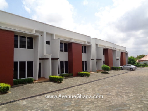 2 bedroom townhouse with outhouse to let at North Legon in Accra Ghana