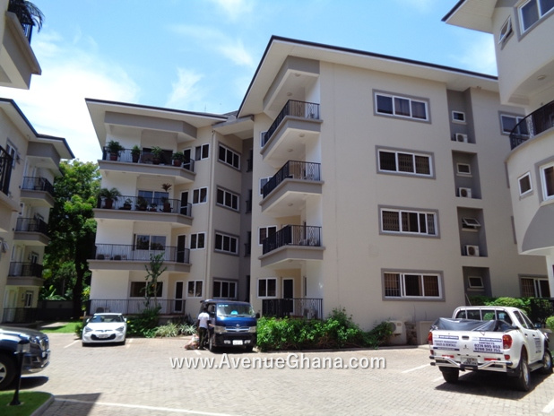 Executive 3 bedroom furnished apartment for rent at North Ridge in Accra, Ghana