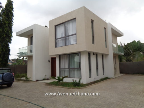 5 bedroom furnished house for rent at Roman Ridge, Accra