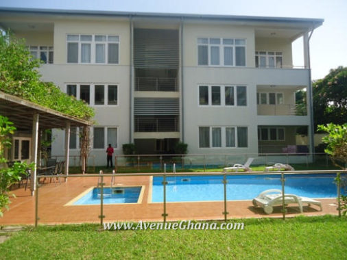 3 bedroom apartment for rent in North Ridge Accra Ghana