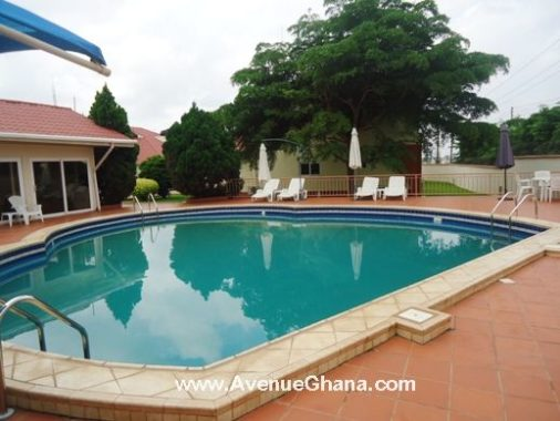 3 bedroom furnished house with swimming pool in east legon - Houses with swimming pools for rent ...