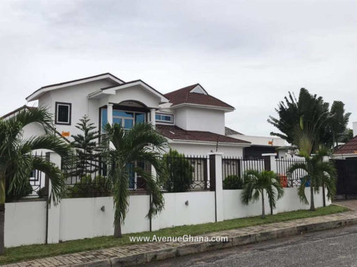 4 bedroom estate house for rent at Airport Hills in Accra Ghana