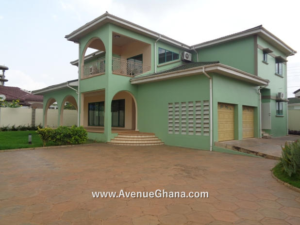 4 bedroom house for rent at East Legon near A&C Shopping Mall in Accra Ghana