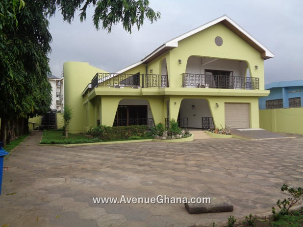 4 bedroom house to let at East Legon near Akyeapong Junction in Accra