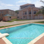 4 bedroom house with swimming pool for rent in Cantonments Accra Ghana near American Embassy