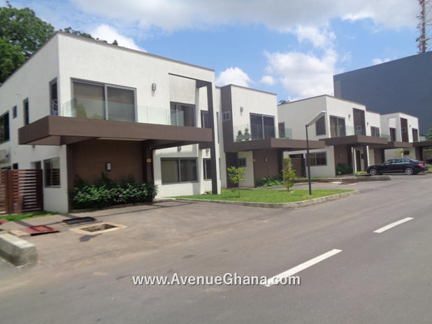 4 bedroom house for sale in a gated community at North Ridge, Accra