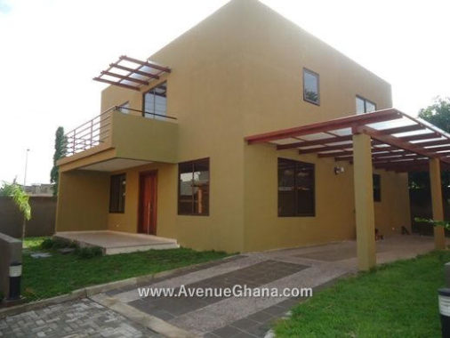 4 bedroom town-houses for rent in Abelemkpe near Lincoln School, Accra Ghana