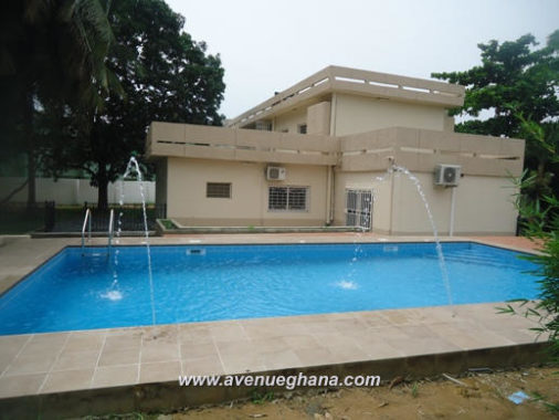 Executive 3 bedroom house with swimming pool for rent in Dzorwulu, Accra