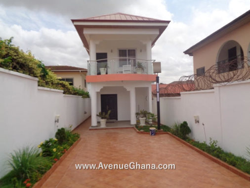 2 bedroom house with one bedroom outhouse to let at East Airport, Accra