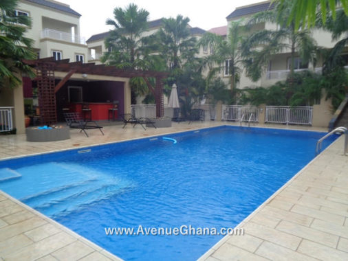 2 4 bedroom townhouse for rent at Roman Ridge near Airport Residential Area, Accra Ghana