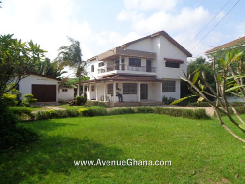 4 bedroom house with outhouse for rent in Dzorwulu near Dzorwulu Police Station, Accra Ghana