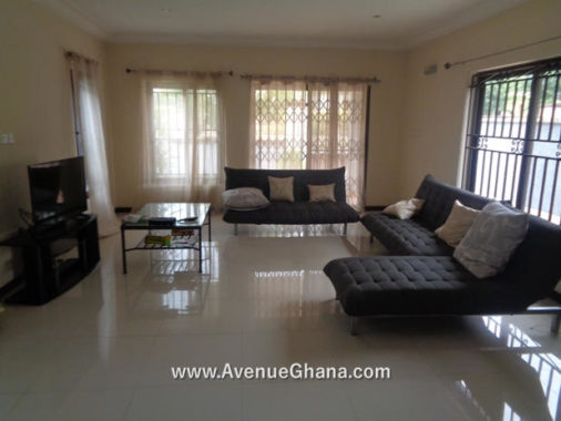 3 bedroom furnished townhouse to let at Buena Vista Estate near Maritime University Tema