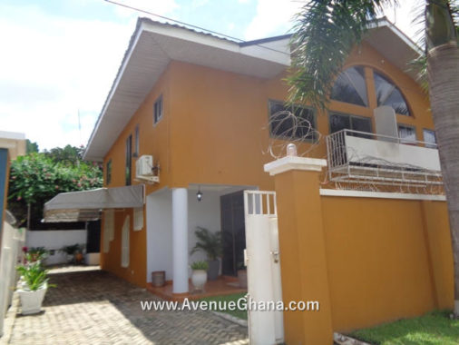 3 bedroom furnished house with outhouse for rent at Roman Ridge in Accra Ghana