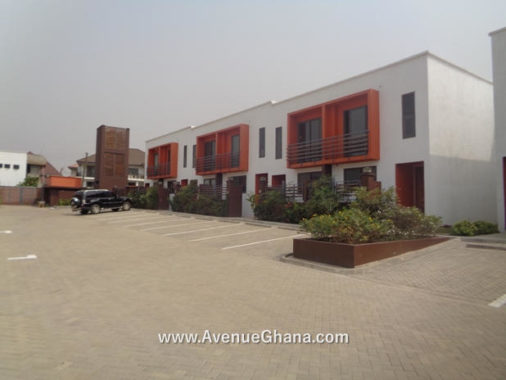 Executive 2 bedroom townhouse to let near Labadi Beach Hotel in Accra