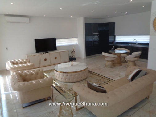 Executive fully furnished 4 bedroom townhouse for rent at Airport Residential in Accra