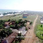 A 5 acre beach land for sale at Elmina Beach